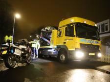 Dronken bestuurder ramt auto's in Zoetermeer