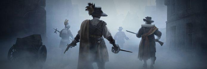 'Black Legend' speelt zich af in een fictieve, maar Vlaamse of Nederlandse, stad ergens in de zeventiende eeuw.