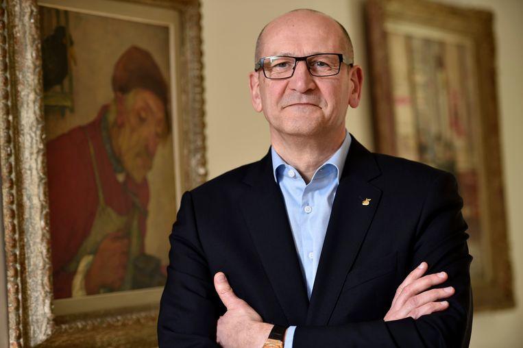 Marc Lauwers, CEO van Argenta. Beeld Photo News