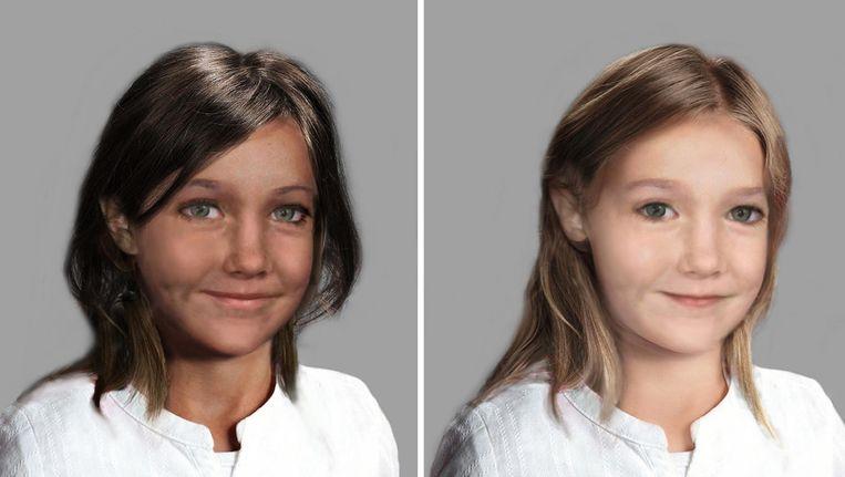 Computeranimatie van hoe Madeleine er nu uit zou kunnen zien. Beeld AP