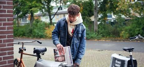 """Lezers steunen krantenbezorgers: """"Stroopwafels aan de deur als blijk van waardering"""""""