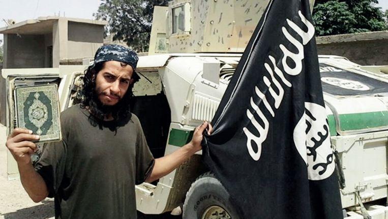 Abdelhamid Abaaoud, het vermoedelijke brein achter de aanslagen van Parijs in november 2015. Beeld ap