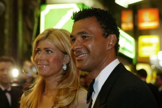Estelle en Ruud toen ze nog getrouwd waren.
