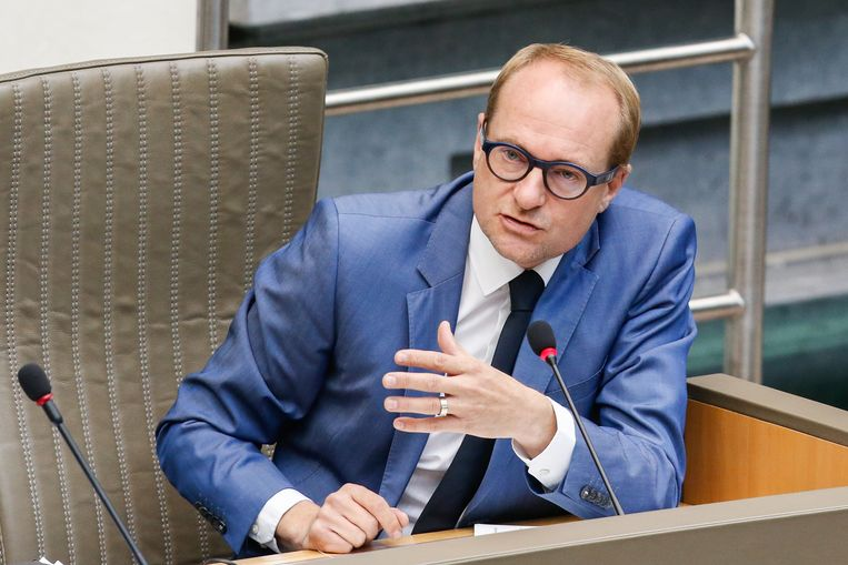 Vlaams minister van Mobiliteit Ben Weyts (N-VA). Beeld BELGA