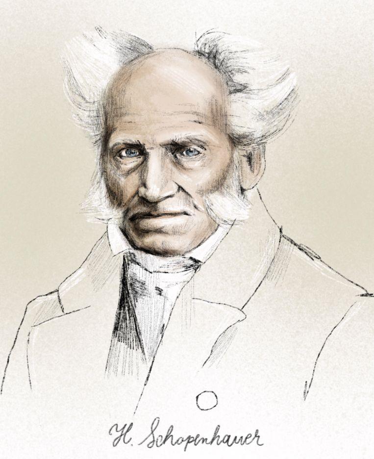 Bart Vandenabeele: 'Schopenhauer zag dat het niet mogelijk is om al onze verlangens te bevredigen.' Beeld Penelope Deltour