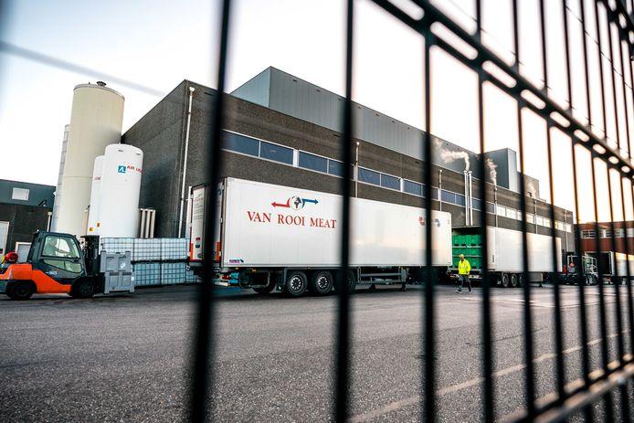 Het slachthuis van Van Rooi Meat in Helmond moest wel dicht na besmettingen.