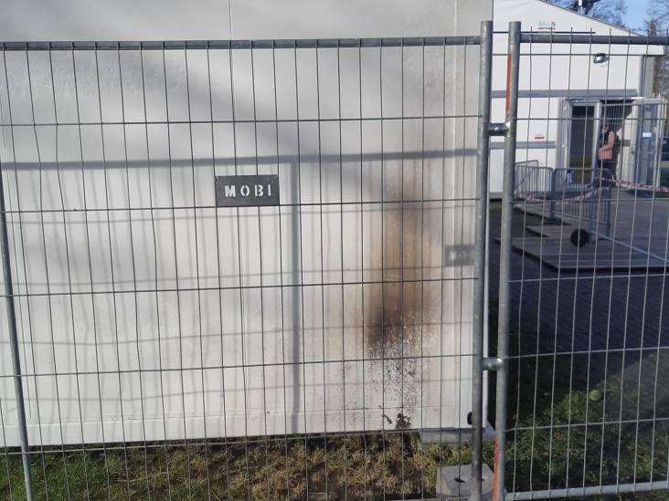 In brand steken van coronatestlocatie in Eersel mislukt