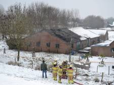 Politie vindt drugslab na grote brand in schuur Doornenburg
