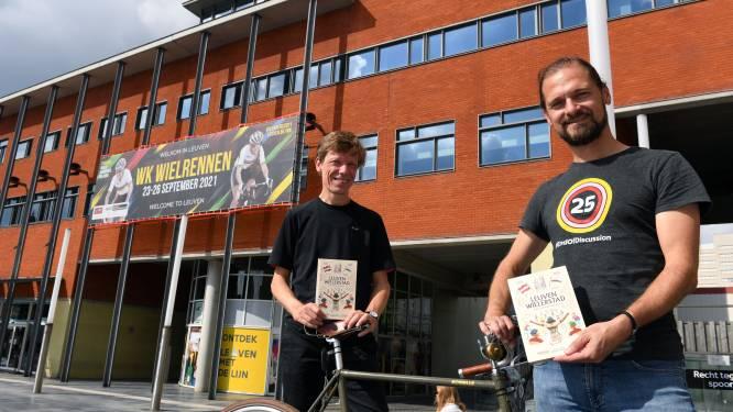 """Gunter Hauspie en Reinhart Croon blikken vooruit naar WK Wielrennen in Leuven met wieleranekdotes: """"Jef 'Poeske' Scherens vloog over de piste en gooide een horloge uit zijn vliegtuig"""""""