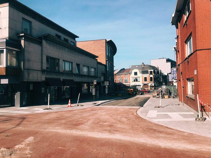 De werken in de Bert Van Hoorickstraat kunnen stilaan afgerond worden.