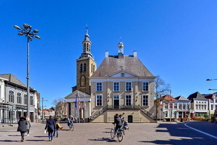 De Markt in Roosendaal; straks beschermd stadsgezicht.