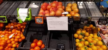 Schappen supermarkten raken leeg, boeren in onderhandeling over einde blokkades