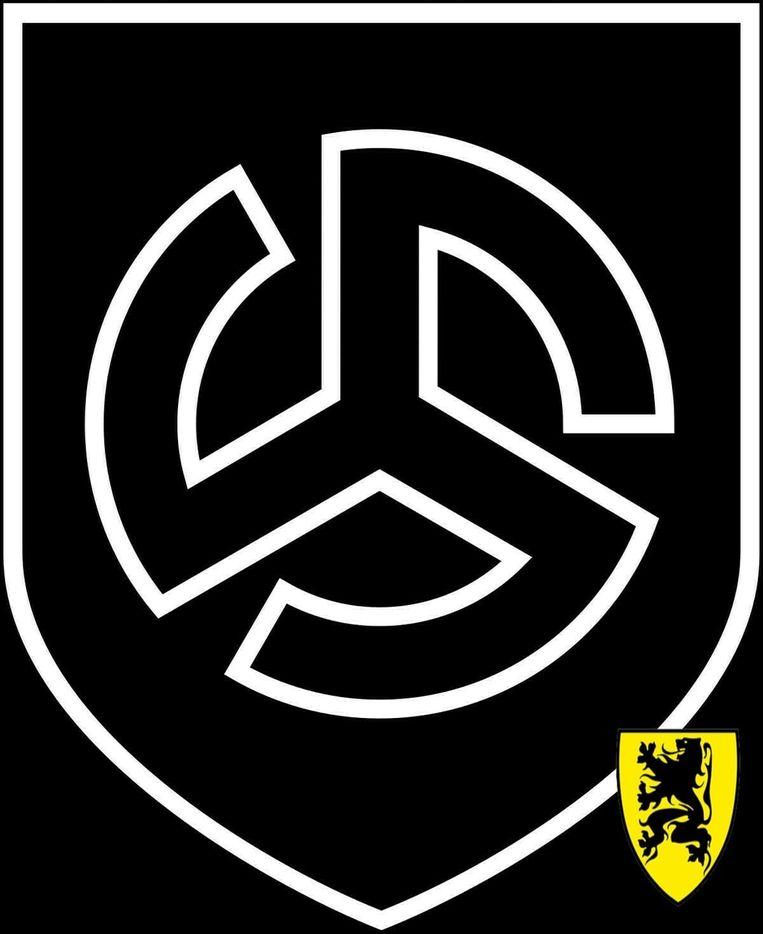 Een Vlaams Belanger uit Aalst postte het logo van Divisie Langemarck, een eenheid van de Waffen-SS.