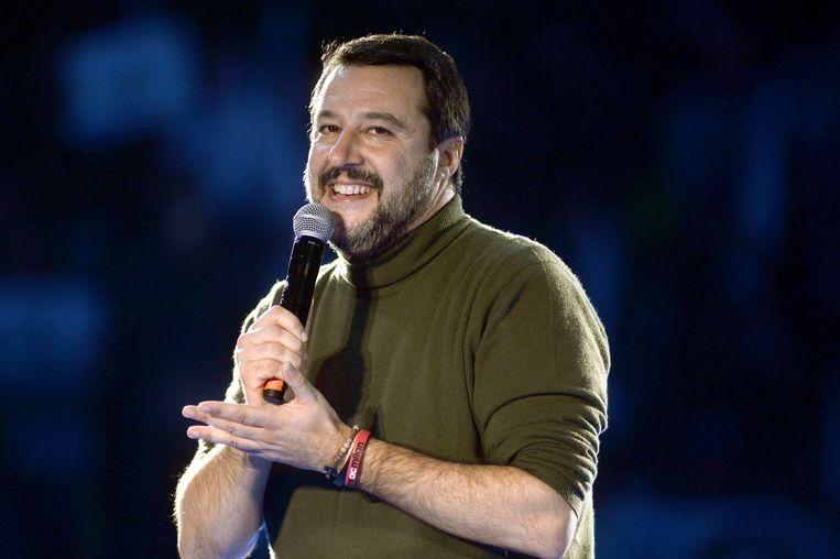 'Ik kijk graag naar Disney-films om hun achterliggende boodschap: je kunt je dromen waarmaken, niets is onmogelijk', zegt Salvini.  Beeld Getty Images
