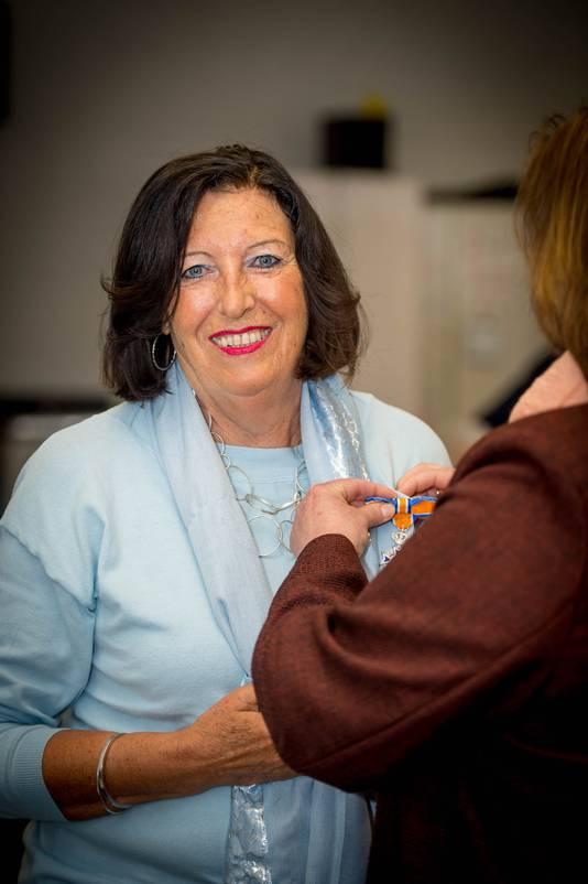 Vorig jaar kreeg onder andere Rosanne Nijs een lintje in Beuningen.