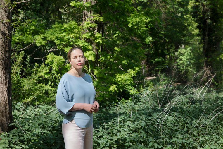 Minister Carola Schouten van landbouw: 'Natuur moet veel meer onderdeel gaan worden van al onze activiteiten.' Beeld Inge van Mill