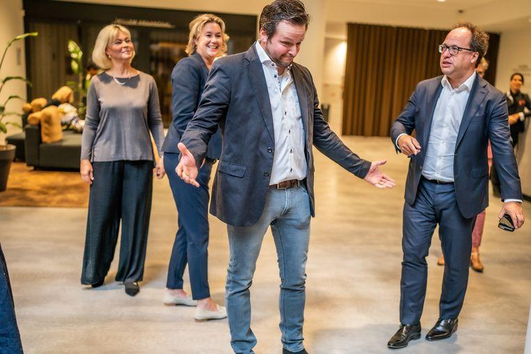 Joost Jimkes vond met de hulp van het regionale mobiliteitsteam in Amsterdam een nieuwe baan in een andere sector.   Beeld Joris van Gennip