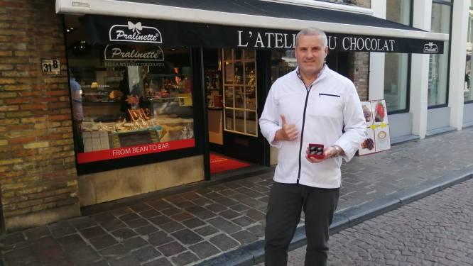 """Brugse chocolatier ontwerpt WK-praline: """"Ik speel graag in op de actualiteit"""""""