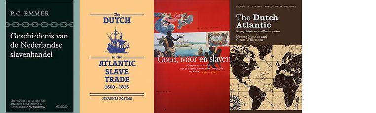 Geschiedenis van de Nederlandse slavenhandel, The Dutch in the Atlantic Slave Trade, Goud, ivoor en slaven en The Dutch Atlantic Beeld