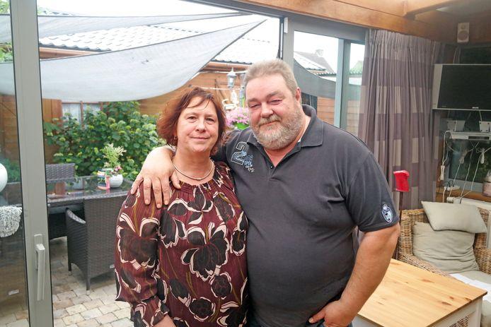 Mario Paelinck en zijn vrouw.