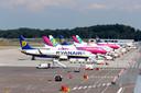Vliegtuigen op Eindhoven Airport