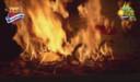 Prins Yvan De Boitselier stak de pop in brand.