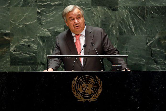 VN-chef António Guterres kampt met cashflowproblemen