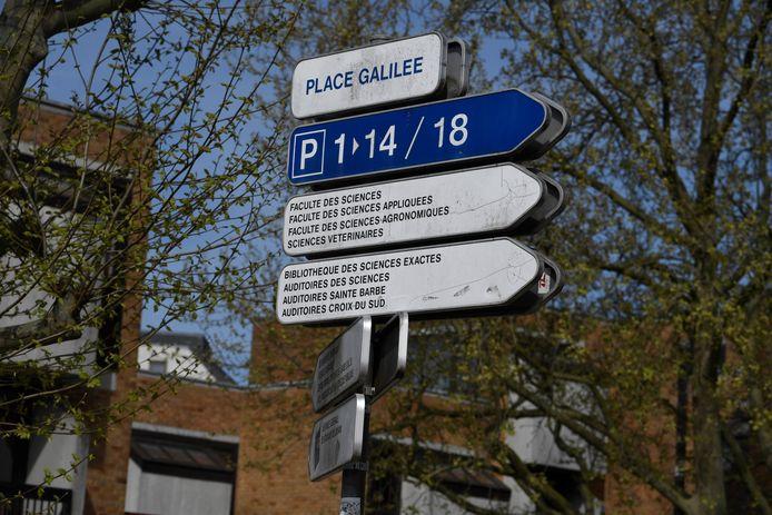 Louvain-la-Neuve, le 15 avril dernier.