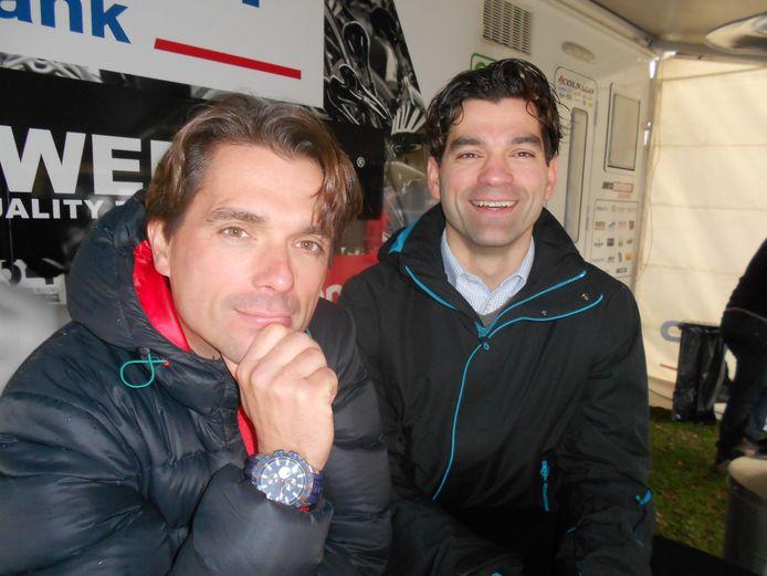 De broers Roodhooft, links Christoph, rechts Philip.