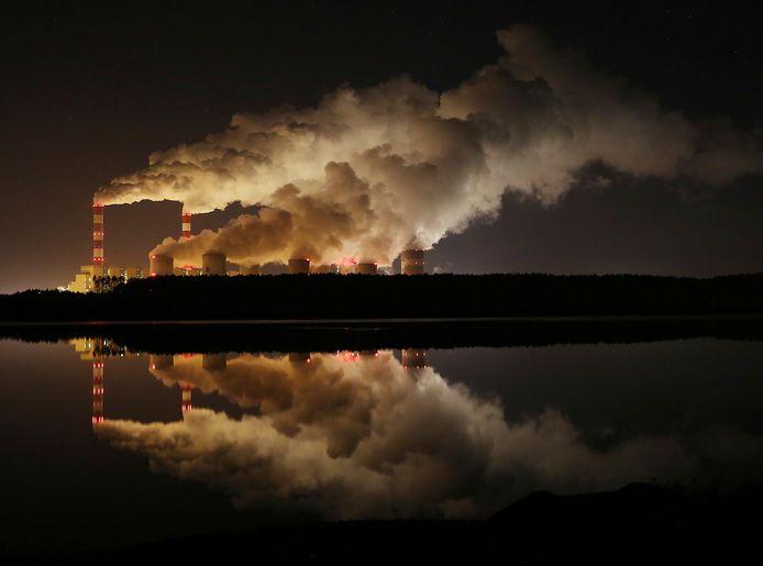De elektriciteitscentrale Belchatow in Polen.