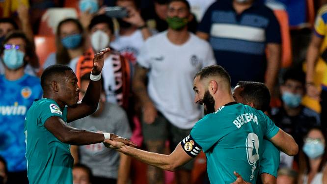 Jubilerende Ancelotti prijst 'ontembare vechtlust' Real na ontsnapping in Valencia