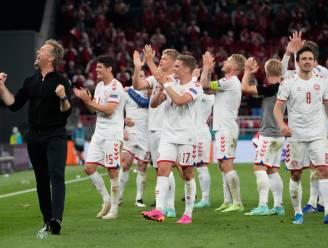 """Eriksen feliciteert ploegmaats via WhatsApp: """"Speciaal om alsnog door te stoten en hem te horen"""""""