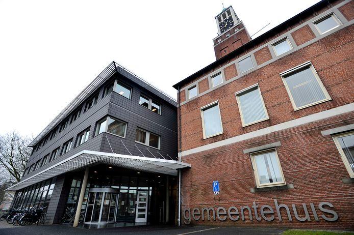 Het gemeentehuis van Gilze en Rijen in 2009 nog voor de vorige grote verbouwing.