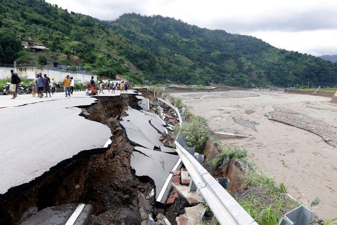 Dili, dans le Timor oriental lundi 5 avril.