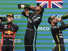 Tussenstand | Hamilton vergroot gat met Bottas en Verstappen