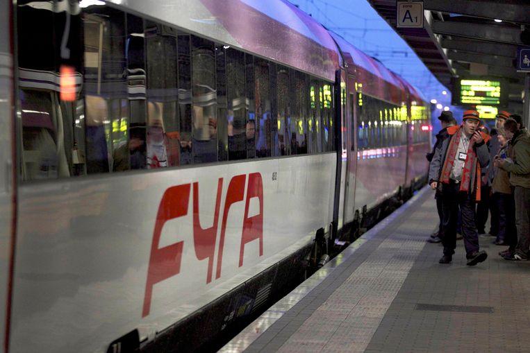 De Fyra-treinen werden gekocht voor een hogesnelheidsverbinding tussen Amsterdam en Brussel.
