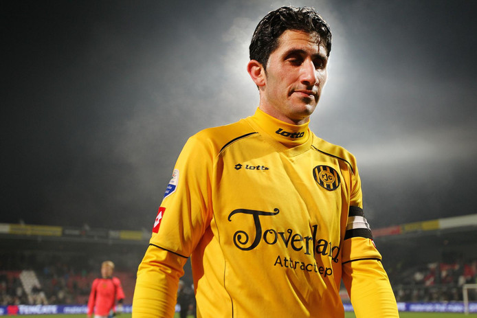 Sanharib Malki in het shirt van Roda JC in 2013.