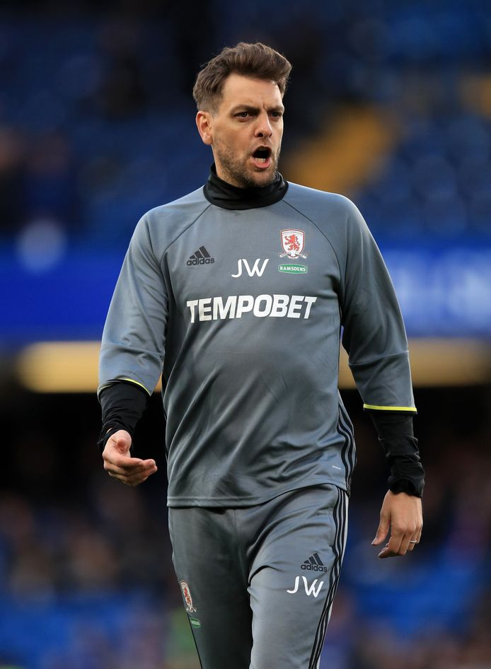 File photo dated 08-05-2017 of Middlesbrough Assistant Coach Jonathan Woodgate ! only BELGIUM !