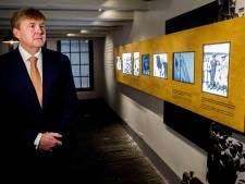 Vernieuwd Anne Frank Huis geopend door de koning
