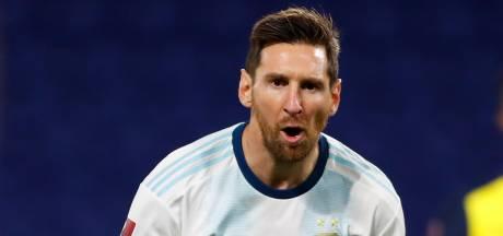 Messi bezorgt Argentinië zege bij start WK-kwalificatie, Chili woest na verlies in Uruguay