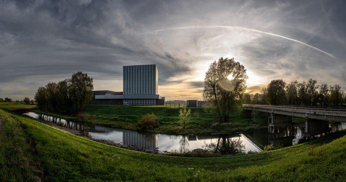De kerncentrale in Dodewaard.