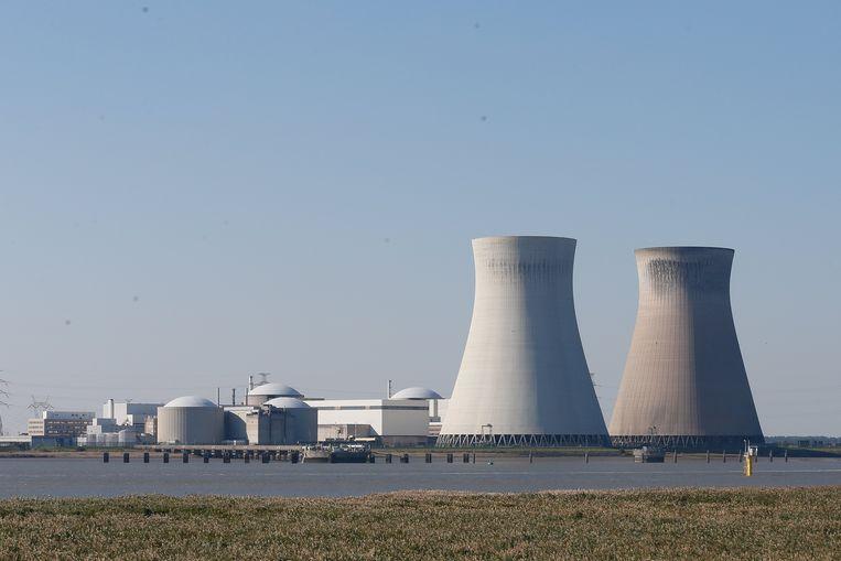 De kerncentrale van Doel. Beeld EPA