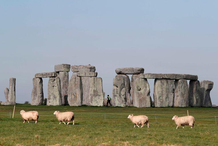 De Unesco-status van Stonehenge wordt betwist.  Beeld AFP