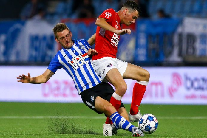 Kay van de Vorst was in de derby tegen FC Eindhoven nog basisspeler.