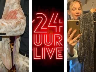 """Deze outfit dragen de Romeo's, Daan en Kate Ryan tijdens 24 UUR LIVE: """"Een wit pak, want dat is de kleur van hoop"""""""