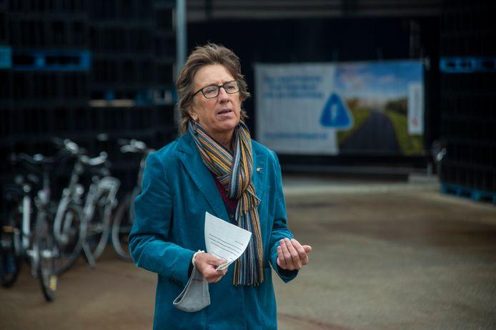 Gedeputeerde Riet Gillis van de provincie Oost-Vlaanderen.
