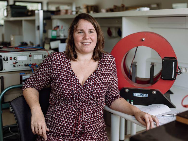 Annelies Coene (30), ingenieurswetenschapper (UGent)  Beeld rv Kevin Faingnaert