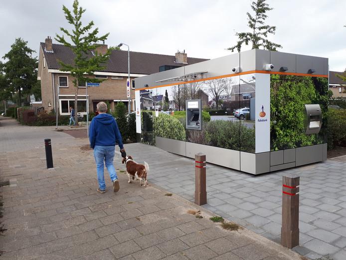 De geldkiosk van de Rabobank aan de Beneluxlaan in Zwijndrecht.