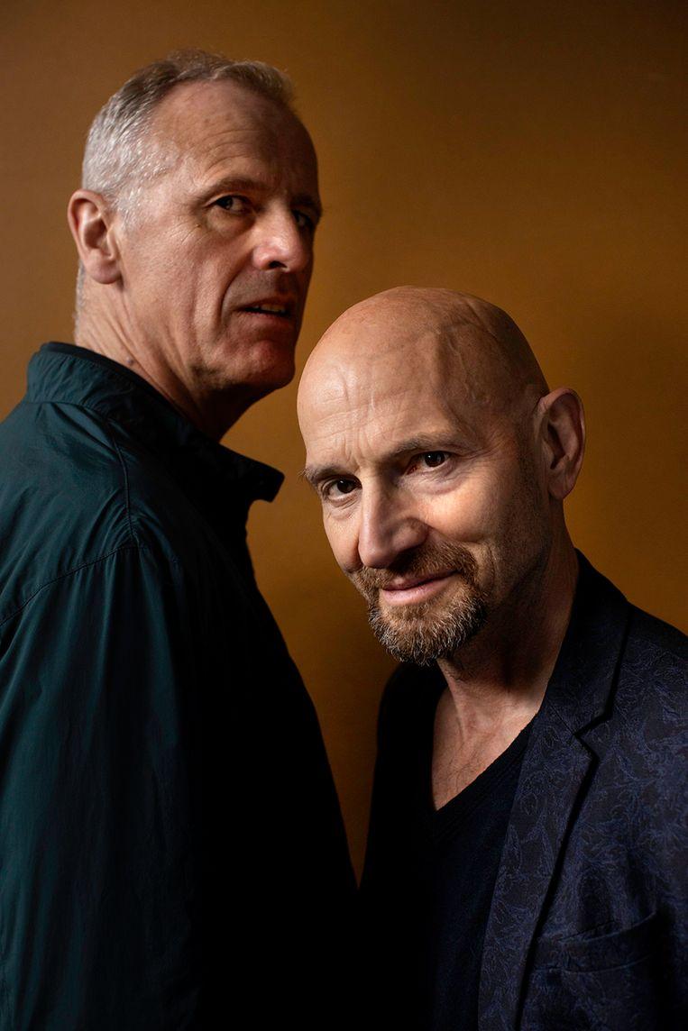 Peter Van den Eede en Willem de Wolf spelen in 'De Nijl is in Caïro aangekomen'.  Beeld RV Koen Broos