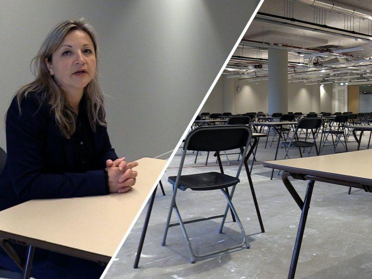 Examen in de oude V&D? Leerlingen in Arnhem doen het